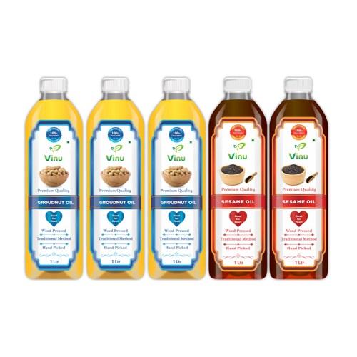 Chekku Oils | Sesame Oil | Groundnut Oil | Wood Pressed