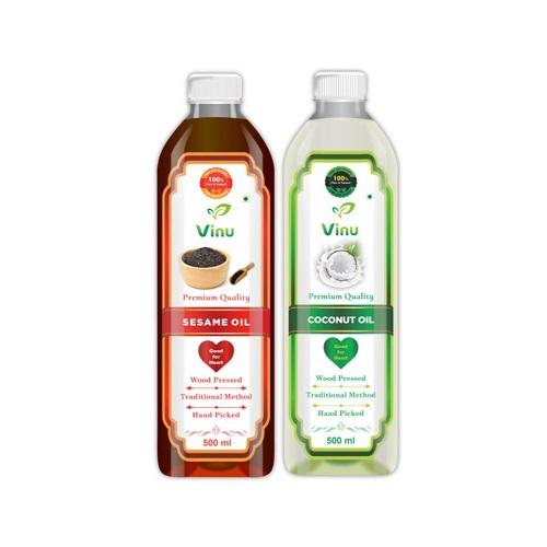 Coconut Oil | Sesame Oil | Ckekku Oils