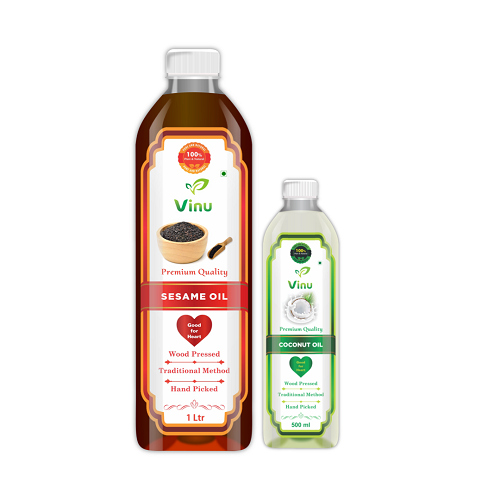 Cold Pressed Cooking Oils | Organic