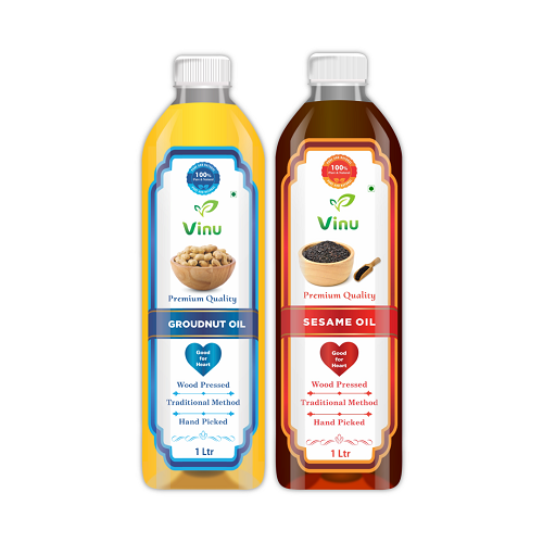 Sesame oil   Wood Pressed   Chekku Oil