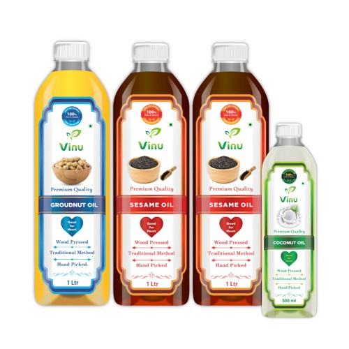 Cold pressed Oil | Sesame Oil | Coconut oil for skin