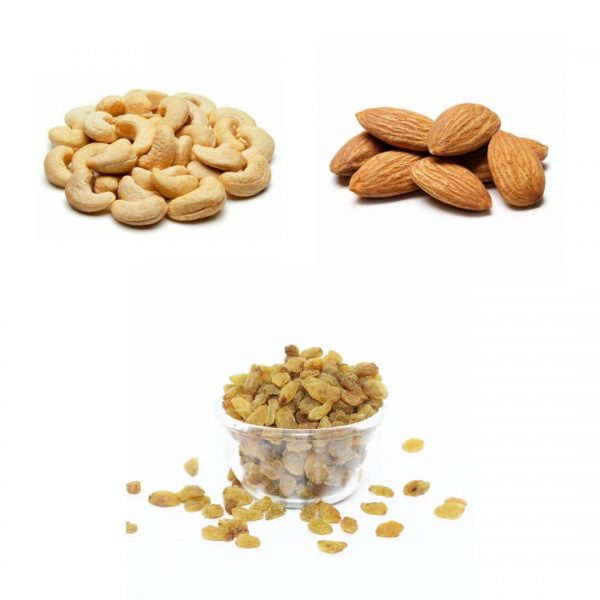 FuturO Combo - Almonds Raisins Cashews