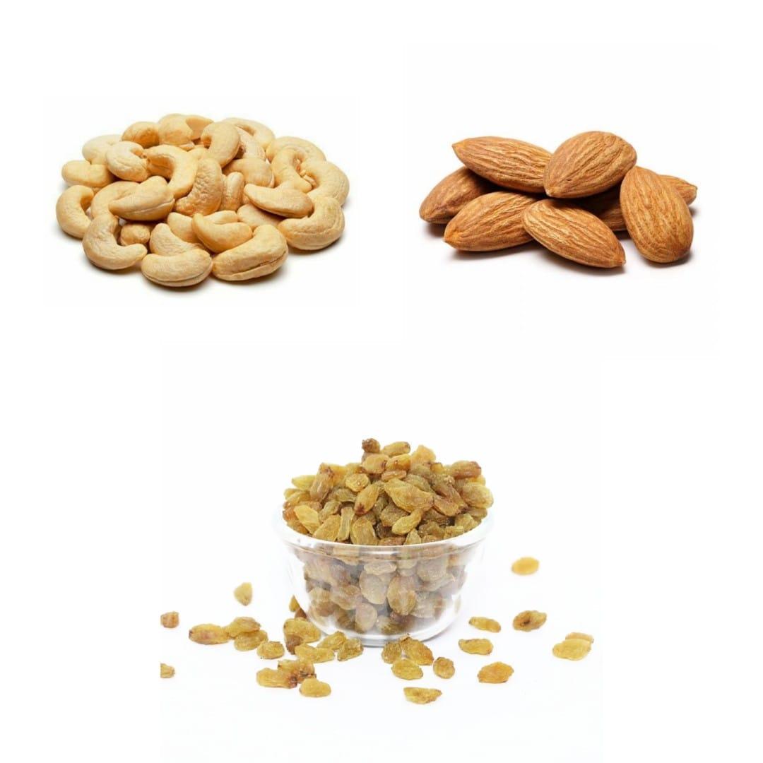 FuturO Combo - Almonds Raisins Cashews